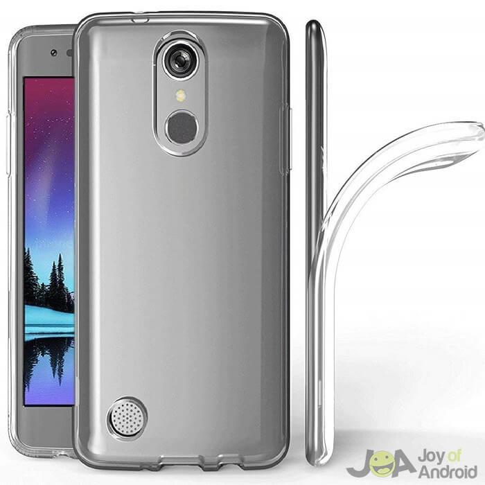 lg k20 plus phone case clear skmy