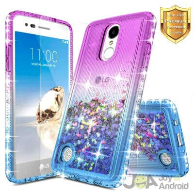 NageBee Glitter Liquid Quicksand Flowing Sparkle Diamond Cute Case