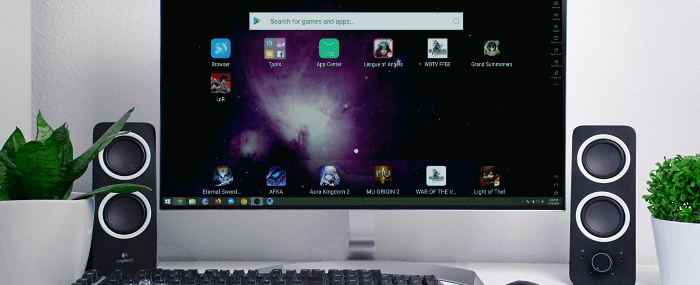 Nox Android Emulator on a PC