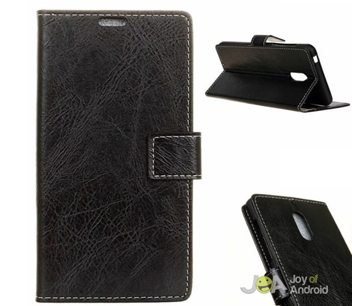 ANLI PU Leather Wallet Case