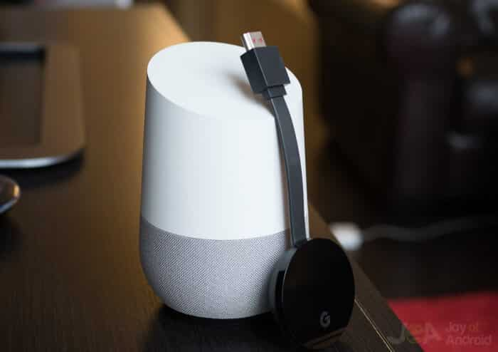 Chromecast Ultra google home