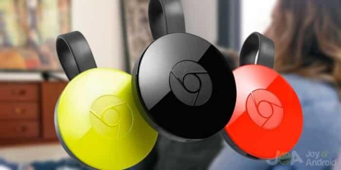 Chromecast2 colors