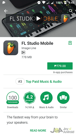FL studio mobile paid download