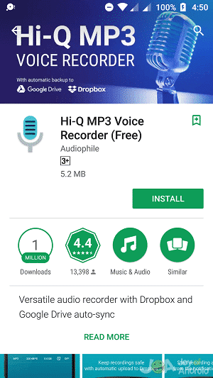 HiQ voice recorder free download