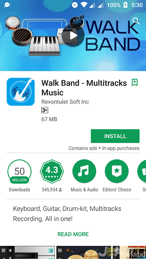 Walk band free download
