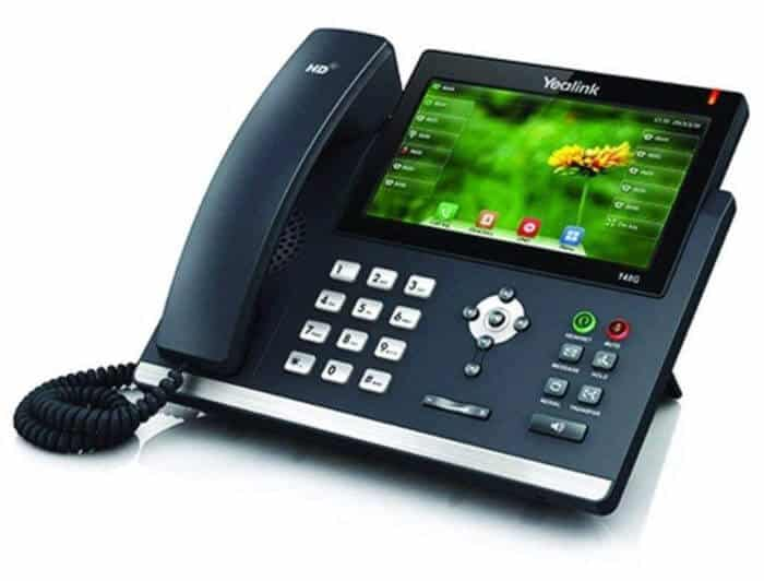 Yealink SIP-T48S Ultra-Elegant Touchscreen IP Phone