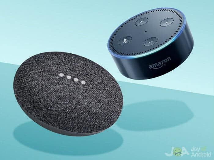 Amazon Echodot vs Google Home Mini