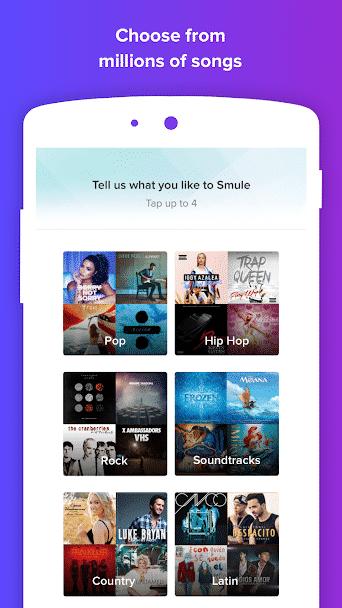 Smule Karaoke App