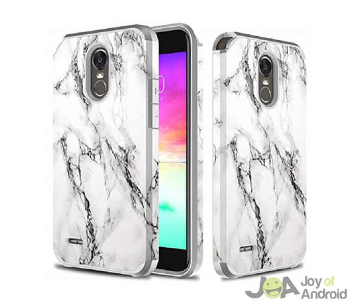 TownShop Marble Pattern Shockproof Bumper Case
