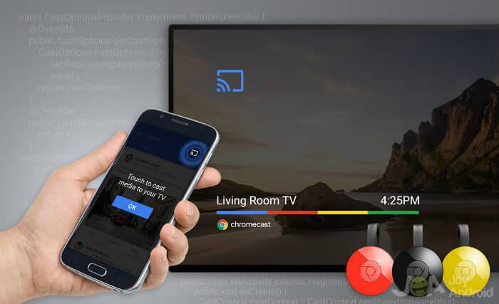 Cast Android to TV - Chromecast