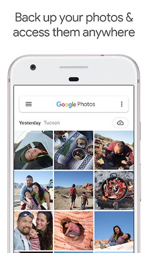 android photoshare googlephotos