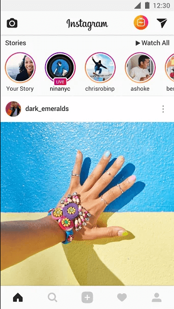 android photoshare instagram