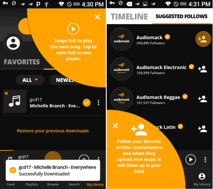 how to listen to spotify offline free android
