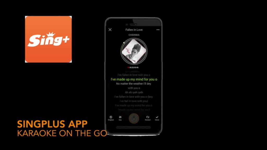 sing plus app