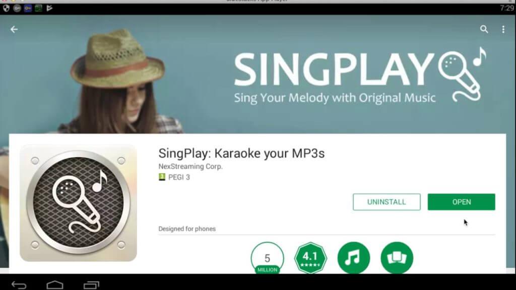 singplay karaoke app
