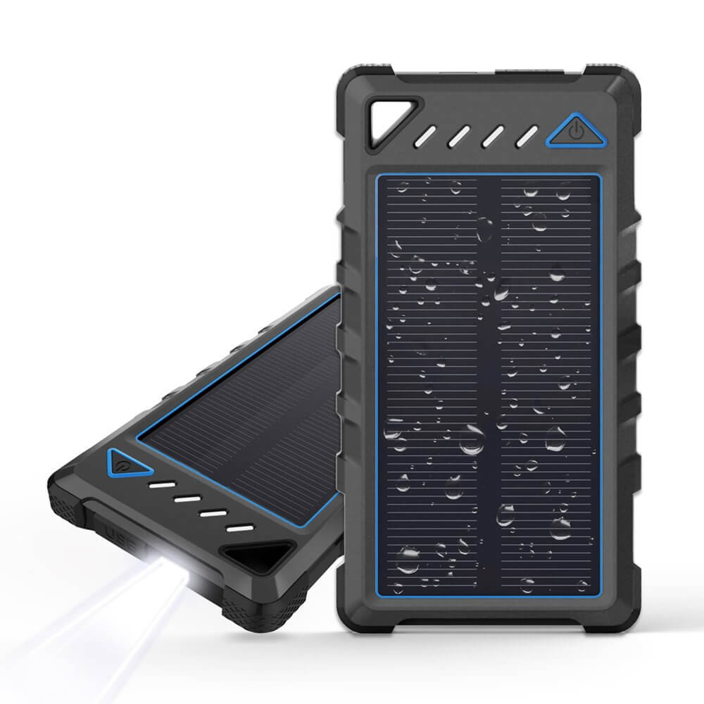 BEARTWO 10000mAh Ultra-Compact portable Solar Charger