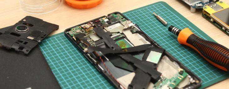 Repairing Phone