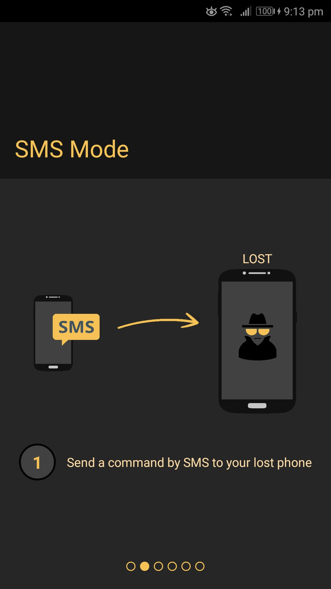 Anti-theft security and alarm system MOSI Apps