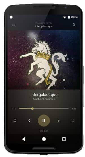 BlackPlayer Music Player - Best Music Player Apps for Android