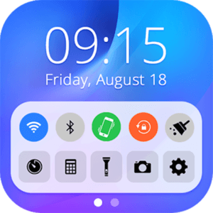 Control Panel Smart Toggle Best Apple iPhone Launcher for Android