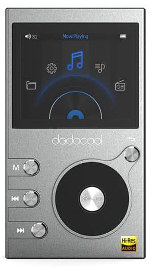 Featured Image of Dodocool Hi-Res Music Digital Player