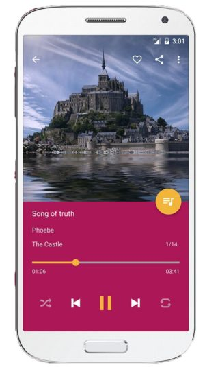 pulsar music player for android