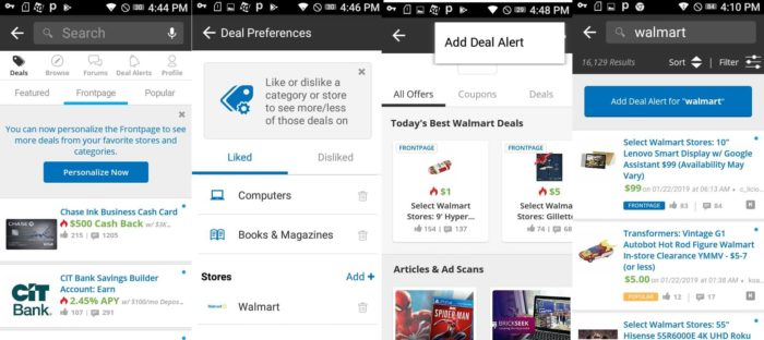walmart saving app for android