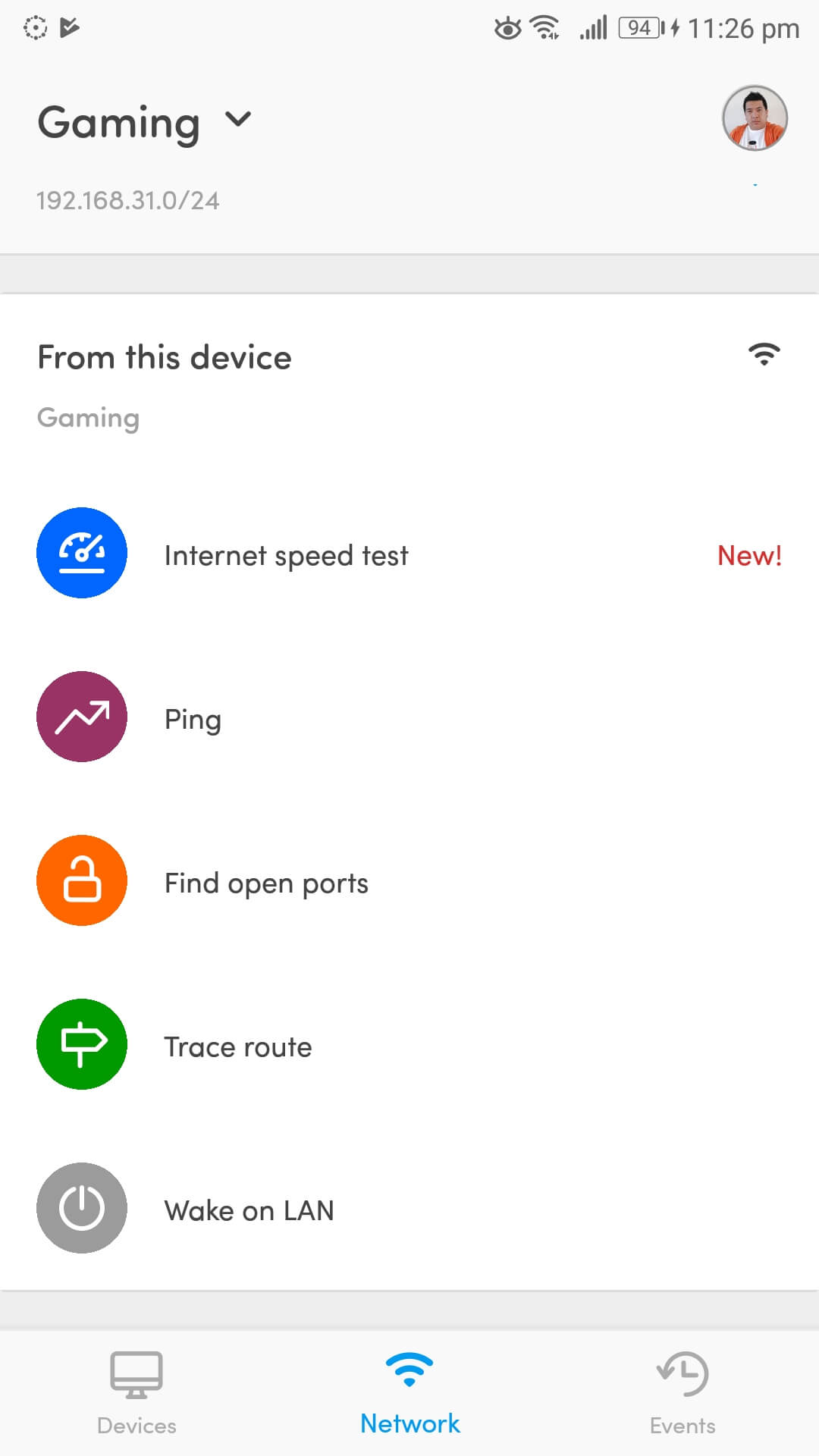 Fing App network toolkit scanner discover