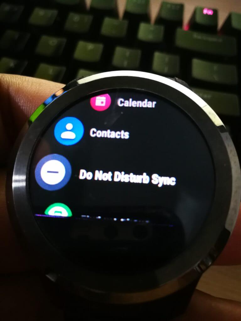 DND Sync for Wear on Android Wear 2.0