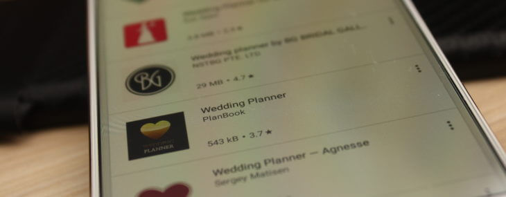Wedding Planner App for Android