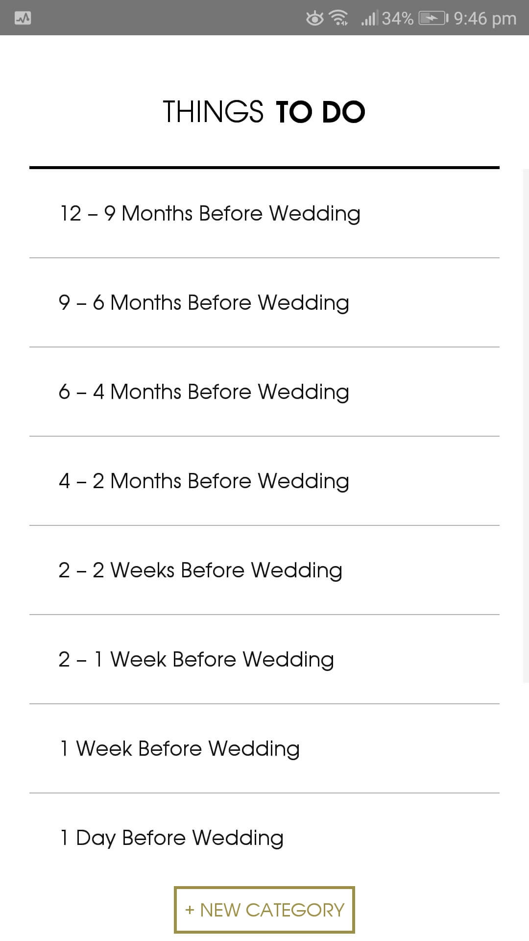 The Wedding Planner app by themousist.co.za for Android