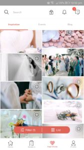 Bridestory wedding app and hilda for android