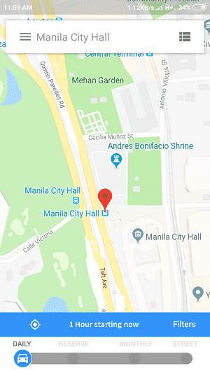 map parkme