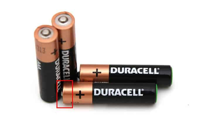 Check Sides of Battery - How to Charge Phone with Broken Charger Port