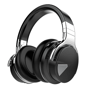 COWIN E7 Active Noise Canceling Headphones Bluetooth Headphones with Mic