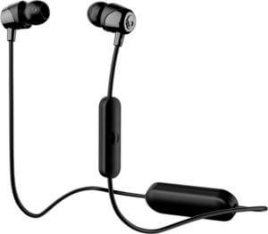 all black wireless earbuds