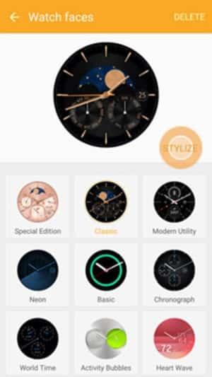 Stylize Watch Faces Customization