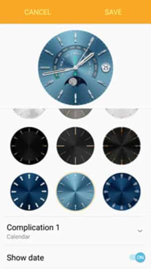 Dial Customization of Watch Faces