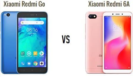 Redmi go vs REdmi 6A