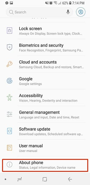 About Phone - How to Fix Android Do Not Disturb