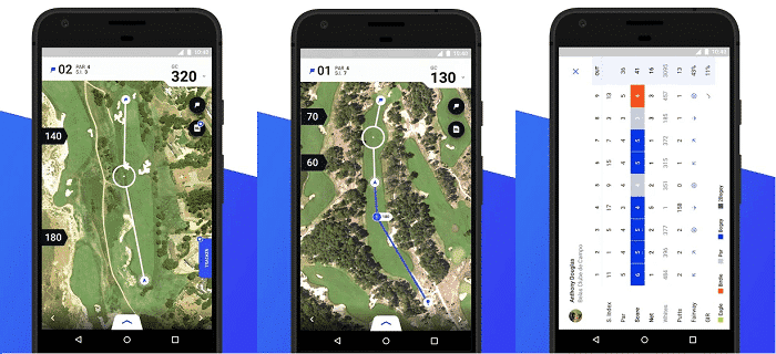 Hole19 User Interface