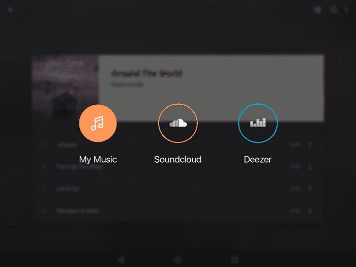 Edjing Mix User Interface