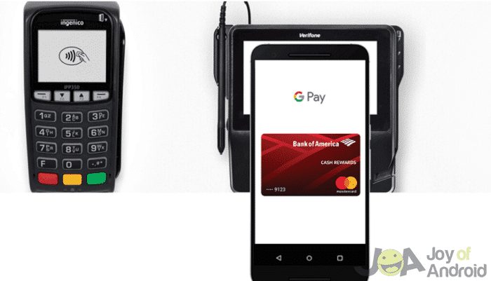 Google Pay using Sales Systems