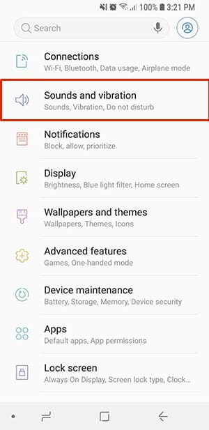 Sounds and Vibration - How to Fix Android Do Not Disturb