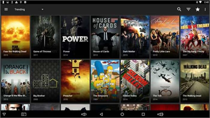 Terrarium TV - Illegal Android app