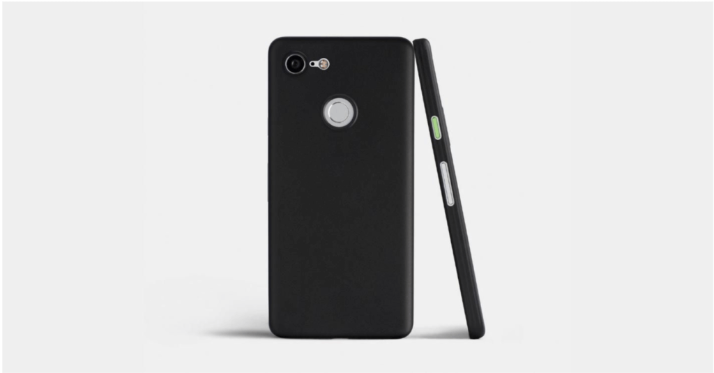 Totallee Pixel 3 Ultra-Thin Black Case