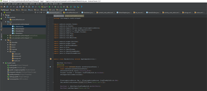 XML file - What Is Android Studio