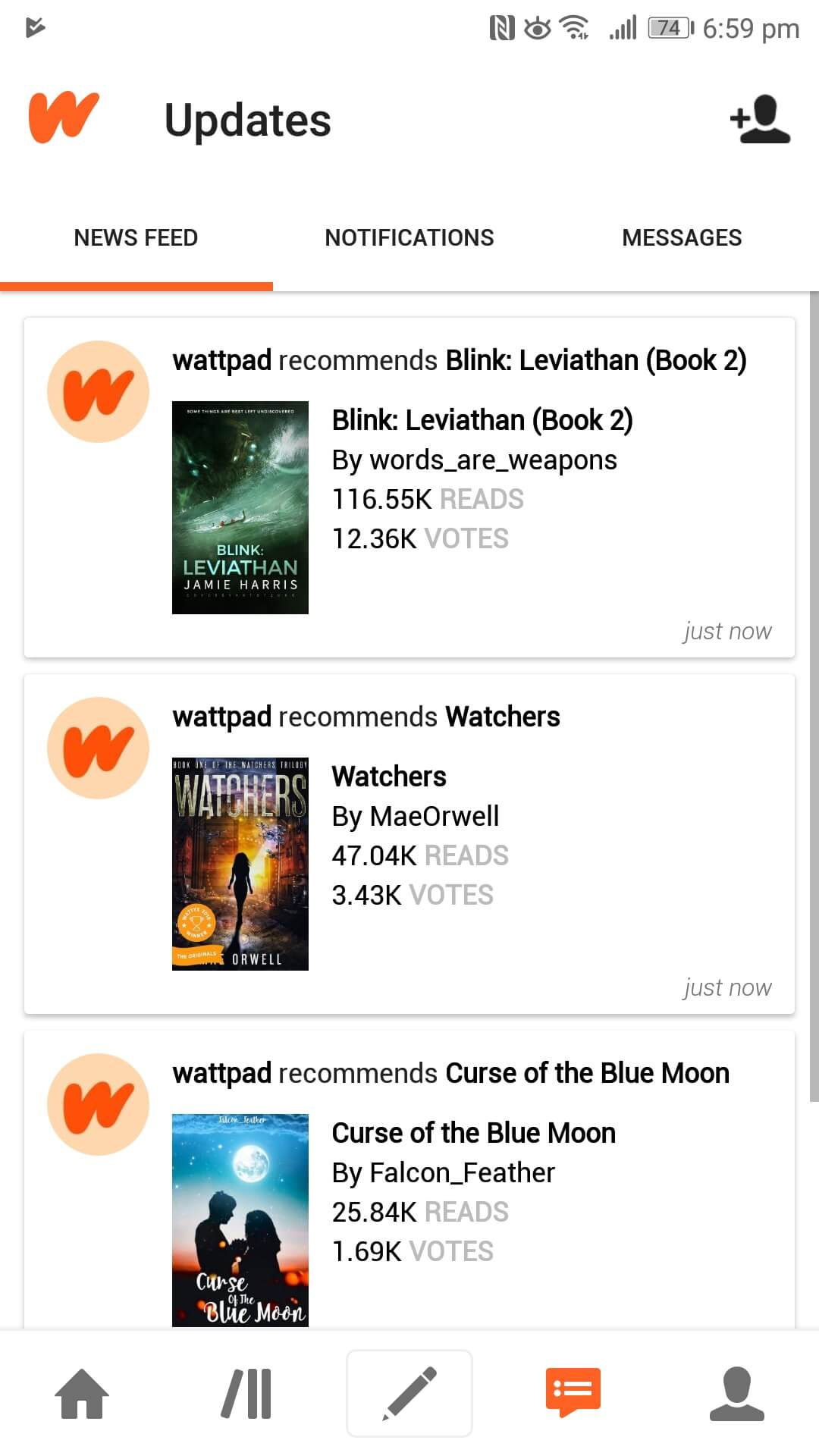 Wattpad ? Where stories live. Wattpad.com