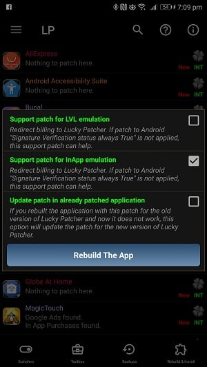 Lucky Patcher APK REbuild