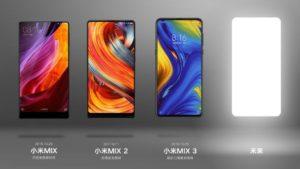 Xiaomi Mi Mix Series